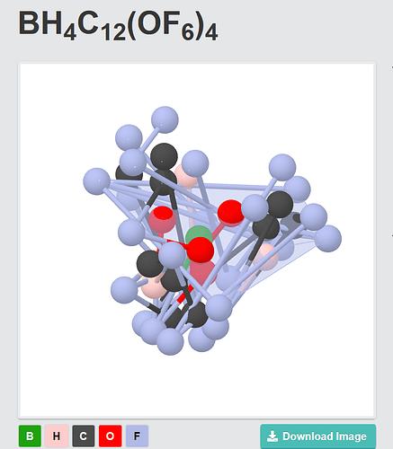 Screenshot (B,O,C,H,F) Materials Project