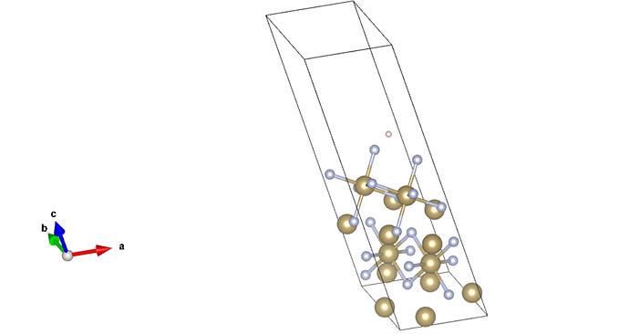 Hydrogen adsorption ta5n6
